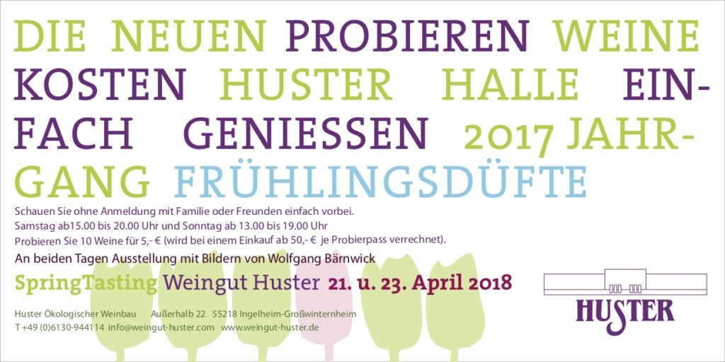 Mai 2018 – Weingut Huster