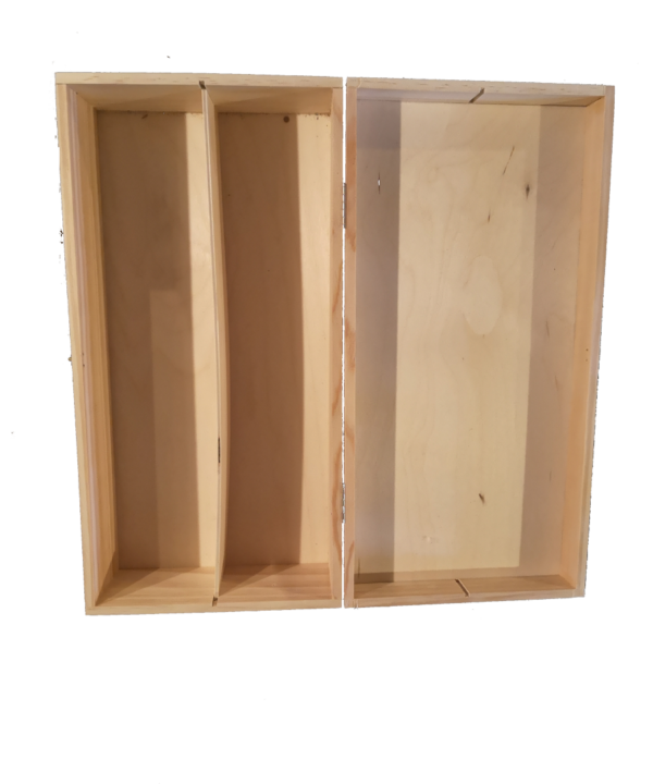 2er Holz Paesentkiste
